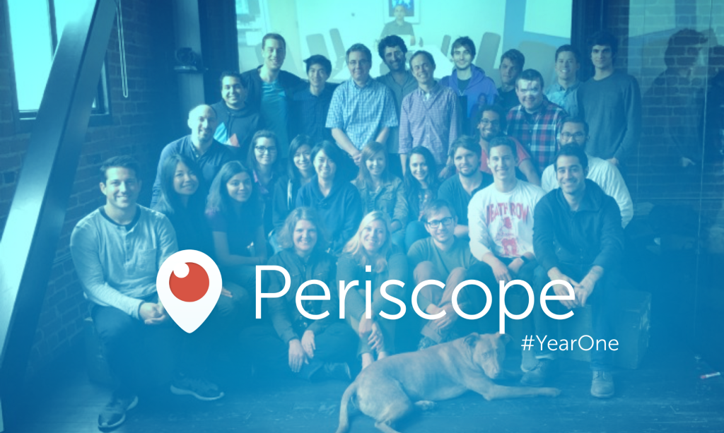 Periscope one year